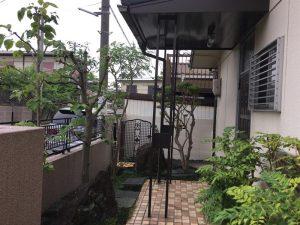 鳥取市で庭手入れ施工後